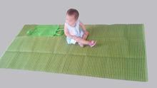 90*180cm pp woven mat picnic mat baby sleeping mat with insurance