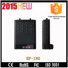 High capacity walkie talkie bp-180 battery pack for interphone