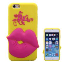 fashion cute 3d silicone cell phone case