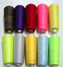 Bulk sewing thread for luggage bags