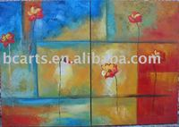 Sample Picture of Canvas Painting,Abstract group home decoration wall art