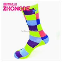 Knitted sublimation cotton men custom dress socks, sport socks men