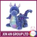 Shanghai xinan 2015 diseño Super calidad de peluche peluches dinosaurio barney dinosaurio juguete