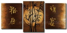 100% handmade wall art chinese oil painting reproductions on canvas for home decoration