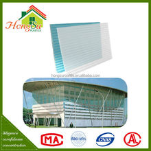 China supplier Sound insulation transparent roof panels