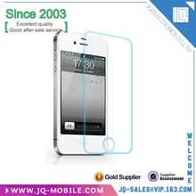 Factory price Anti scratch 9H 2.5D tempered glass screen protector screen film for Apple Iphone 4