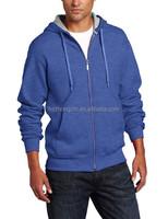 Men's zipper jacket eco-fleece hoodie
