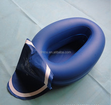 inflatable travel toilet seat with cover