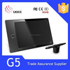 Ugee G5 8GB storage 9x6 inches 2048 levels 5080LPI pen input tablet