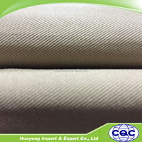 cheap 100% cotton drill workwear twill dyed weave fabric