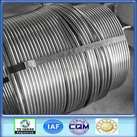 AISI DIN ASTM 304 stainless steel coiled tube factory customized production