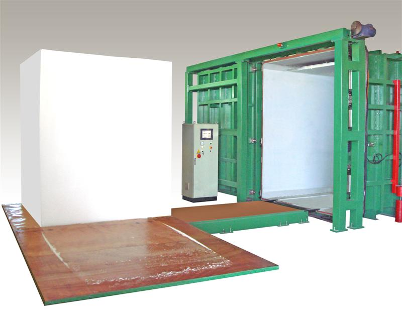 Batch polyurethane pu foam block making machine buy for Foam block foundation prices