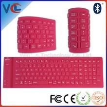 Optional Color Wireless Bluetooth Flexible Keyboard