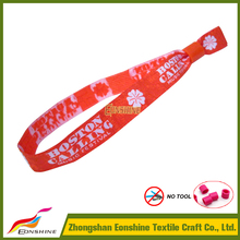 Made in china merchandise DIY hand make wrist band with one-time lock