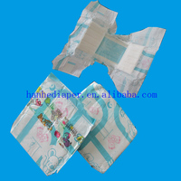 OEM disposable printed diaper for cute baby