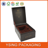 Custom Luxury Cardboard Wine Carrier