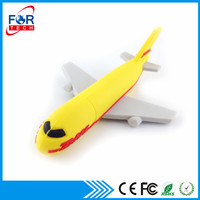 Promotional Gift Airplane Shaped Custom USB Flash Drive
