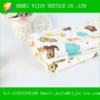 wholesale cotton printed flannel fabric baby pajamas