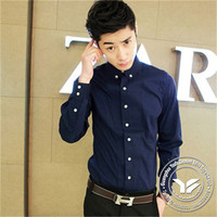washed fashion design new model men dress shirts brand name