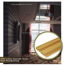Wood Plastic Composite pvc Home Interiors Wall panel & ceiling , waterproof panel for home