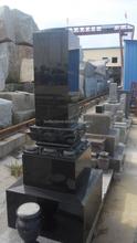 cemetery headstone tombstone black marble tombstone