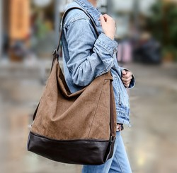 C29894A Wholesale Big Volume Casual Tote Canvas Bags