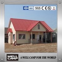 New Style Movable Simple Sandwich Panel Villa House