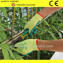 China Cheap Rubber Latex Palm Coated Garden Gloves/Safety Gloves EN388 10 Gauge