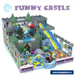 JT-13001B Used in Amusement Park Castle Theme Kids Indoor Soft Playground Equipment