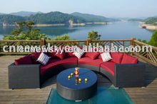 2014 fashion outdoor rattan sofa rattan furniture