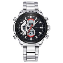 2015 MIDDLELAND High Grade Alloy Case Stainless Steel Band Vintage Japan Movement Quartz Watch for Wholesale