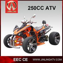 Jinling EEC cheap 4x2 atv 250CC Road Legal Quad for sale