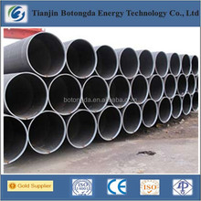 SSAW and LSAW welded pipe according to API 5L and ASTM A53 GR.B