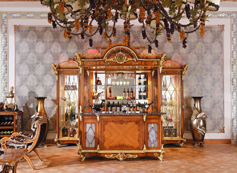 Luxury french baroque style bar furniture european for French baroque style