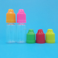 on -time shipment!Top quality 10ml plastic juice bottle