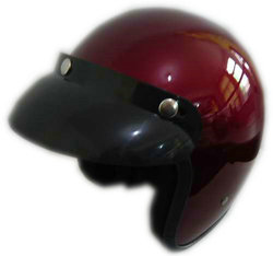 hot sale wine red color half shell motorcycle helmets