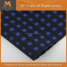 Victoria Blue and black blend checked Brushed Coating perfect for leisure overcoat