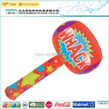 Inflatable pvc hammer toys