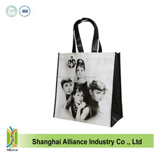 Good Quality Character Sublimation PET Non Woven Tote Bag/Shopping Bag