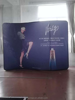 Hot products pop up display stand from Shenzhen SUNSIDE/Arc type,size:5260*2300mm