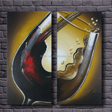 Dropshipping decorative triptych modern oil painting