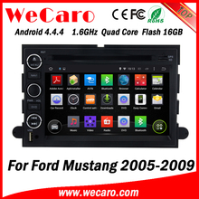 Wecaro WC-FU7302 Android 4.4.4 car dvd player 1080p for ford mustang gps 2005 - 2009 Wifi&3G