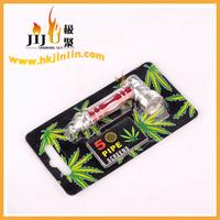 JL-010 Yiwu Jiju China Supplier Tobacco Pipe Stems,Metal Pipe Smoking