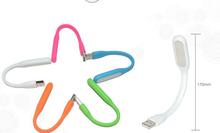 New Portable xiaomi LED Light Bendable Mini Lamp USB PORT PC Power bank partner