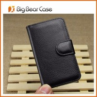 Flip leather mobile phone case for HTC 200