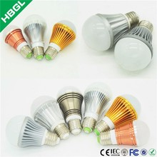 smd diode b22 led lamp bulb 1w-18w ip44 120lm/w high bright high efficiency