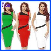 Fashion Sexy Women Ladies OL Dress Bodycon Slim Pencil Dress