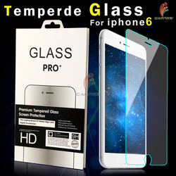 Full Screen Cover !! Colorful 0.2mm 9H Hardness 3D Curved Aluminium titanium alloy tempered glass screen protector for iPhone 6