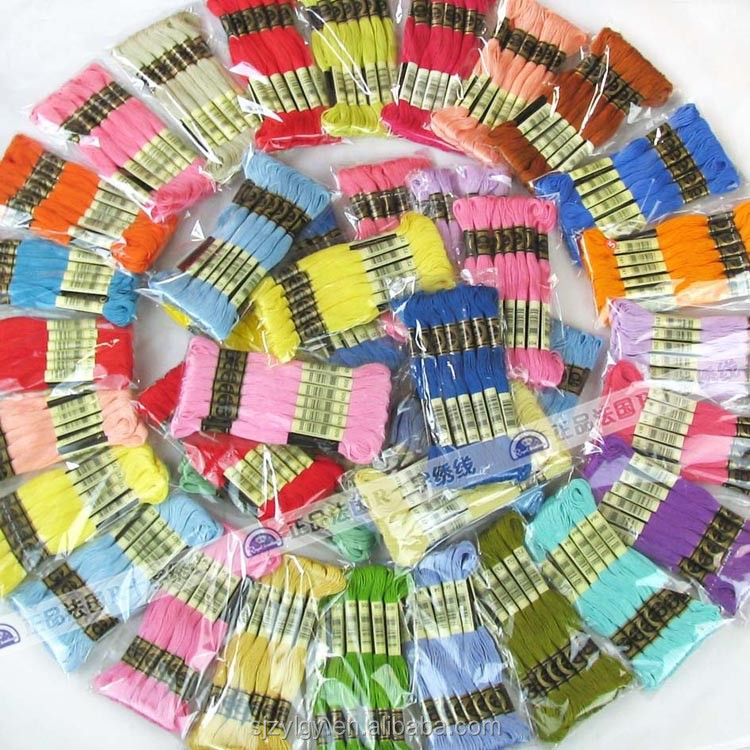 Wholesale Cotton Threads Cross Stitch Thread For