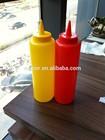 kitchup dispensador de salada plástica frasco com bico